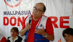 """Vocero de APP sobre Caso Donayre: """"El desafuero del congresista es inminente"""""""