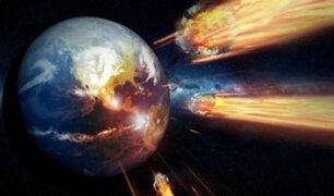 NASA advierte sobre una gran colisión de asteroides sobre la Tierra