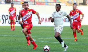 La 'U' se aleja del Apertura: Sport Huancayo y Universitario empatan 1 – 1 en Monumental