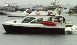 Callao: naufraga yate con 20 escolares del colegio San Agustín