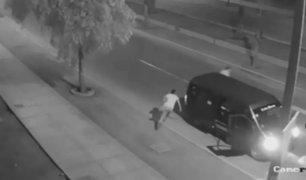 Carabayllo: asaltan minivan que hacía taxi colectivo y chofer huye