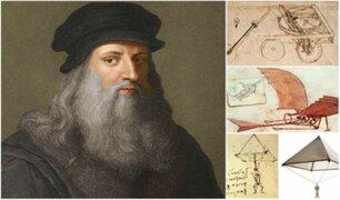 Leonardo Da Vinci: sus inventos que siguen sorprendiendo al mundo a 500 años de su muerte