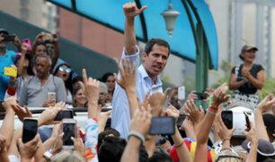 "Juan Guaidó: seguiremos luchando ""pase lo que pase"""