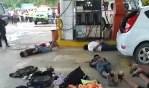 Puerto Maldonado: detienen a presunta banda que asaltó campamento minero