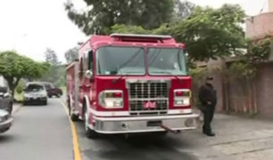 La Molina: incendio en vivienda deja tres muertos