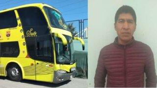 Arequipa: chofer ebrio conducía bus con 40 pasajeros a bordo