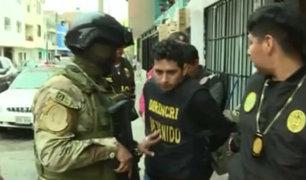 Desarticulan banda 'Los sanguinarios de Chiclayo' en megaoperativo