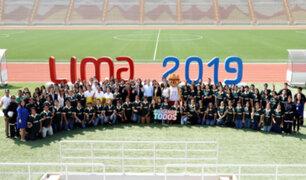 Lima 2019: UNMSM recibe reconocimiento por gran número de voluntarios en evento