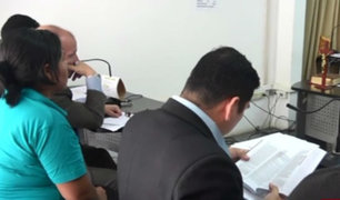 Huánuco: mujer agredida lloró y suplicó a juez que libere a su pareja