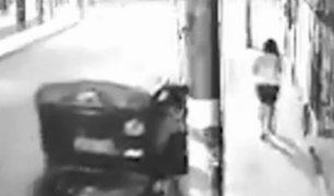 Huaral: delincuentes en mototaxi asaltan a joven para robarle celular