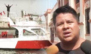 """Naufragio en el Callao: conductor de yate asegura que accidente fue ocasionado por un """"selfie"""""""