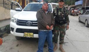 Capturan a 'Jarachupa', el narcotraficante más buscado en Ayacucho