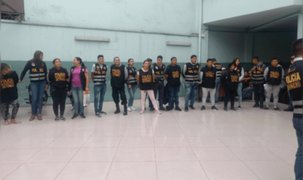 Dictan prisión preventiva a presuntos extorsionadores de comerciantes de Gamarra