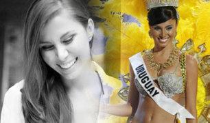 México: encuentran muerta a una ex Miss Uruguay en un hotel