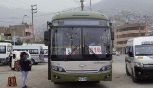 Corredor Verde: 5 buses vinculados a 'Jarachupa' fueron internados en depósito
