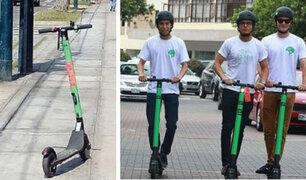 Miraflores: scooters podrán circular, según ordenanza municipal