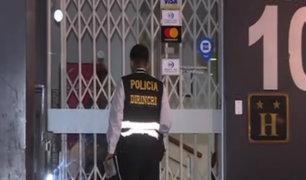 San Borja: dos personas fueron halladas muertas en habitación de hotel