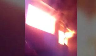 La Molina: incendio en vivienda habría sido provocado para desaparecer huellas de triple crimen