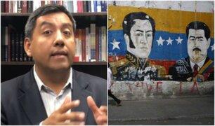 Martín Santiváñez: sectores de la izquierda peruana han sido cómplices del socialismo del siglo XXI