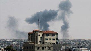 Israel bombardea Gaza tras ataque con cohetes sobre su territorio