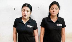 Capturan mujeres que prometían trabajo en el Midis a cambio de dinero