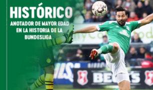 Peruanos en el extranjero: Werder Bremen celebra récord de Claudio Pizarro