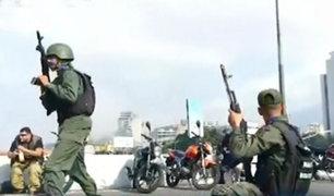 Lucha en Venezuela: cinco muertos y más de 200 heridos tras alzamiento cívico militar