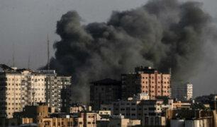 Alto al fuego tras escalada entre Israel y Hamas