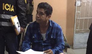 Lambayeque: piden 36 meses de prisión preventiva para exalcalde de Íllimo