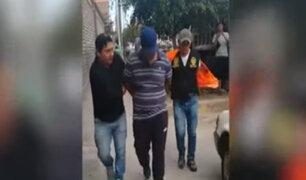 La Victoria: capturan a integrantes de banda dedicada a la extorsión y robo