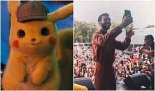 Detective Pikachu: protagonista del film llegó a Perú