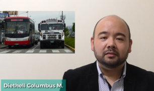 Columbus: urge implementar cámaras de vigilancia en unidades de transporte público