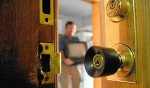 Santa Anita: delincuentes roban vivienda mientras familia dormía