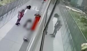 Tumbes: cámara captó a sujeto realizando tocamientos a dos niñas