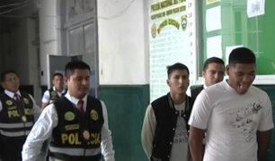 Capturan a integrantes de la banda 'Los malditos de Mogrovejo' en Cercado de Lima