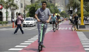 Miraflores: convenio entre municipio y empresas de scooters generará más ciclovías