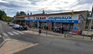 Francia: sujeto armado tomó rehenes en una tienda de tabaco