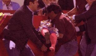 Torera mexicana fue llevada de emergencia al hospital después de una brutal embestida