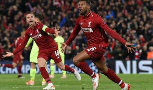 Champions League: Liverpool derrota 4-0 al Barcelona y clasifica a la final