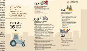 Obras viales no estarían listas para los Panamericanos 2019