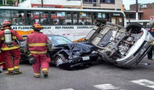 MTC: Se registran tres mil muertes al año por accidentes de tránsito en el Perú