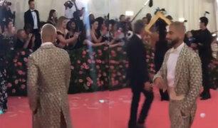 Maluma fue ignorando por fotógrafos durante la MET Gala 2019