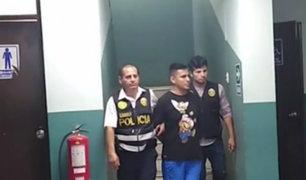 Detienen a uno de los atacantes de Daniel Urresti en Los Olivos