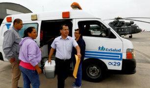 Operativo de trasplante de órganos en el interior del país salvó la vida a dos personas