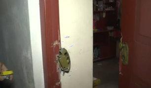 Los Olivos: roban cinco departamentos en un edificio