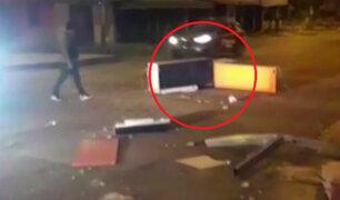 SMP: policía evitó que ladrones se lleven un cajero automático