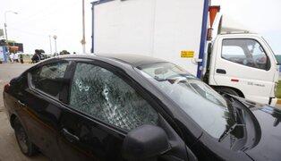 Intento de asalto a camión de electrodomésticos dejó un herido en San Miguel