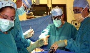 Extraen por la nariz un tumor cerebral a una niña de cuatro años