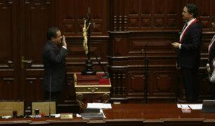Luis Iberico juró como congresista en reemplazo del desaforado Edwin Donayre