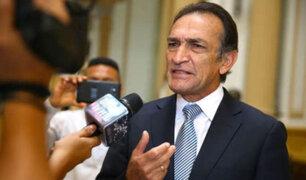 "Becerril: ""fiscales quieren sacar de carrera a partidos para el 2021"""